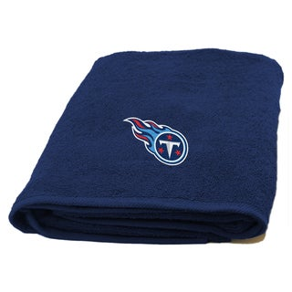 NFL Titans Applique Bath Towel