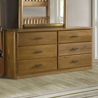 Timber Creek 6-Drawer Log Dresser