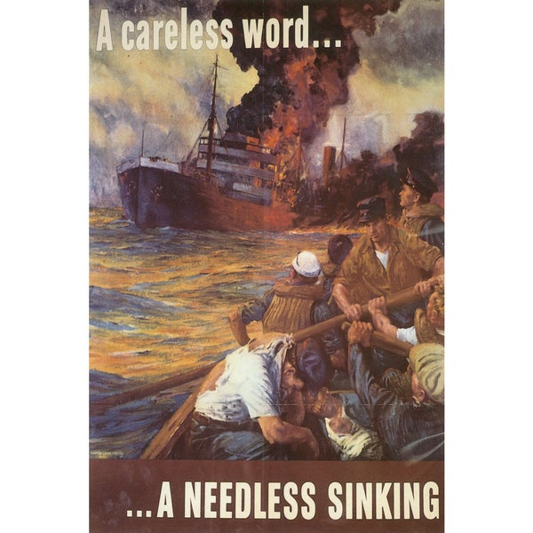 Marmont Hill Art Collective 'A Needless Sinking' Canvas Art