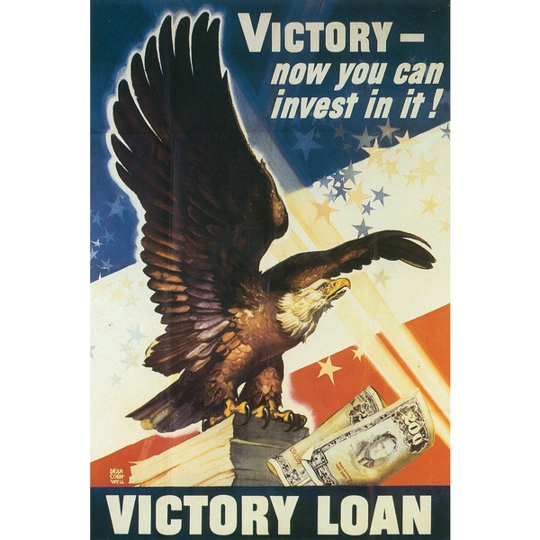 Marmont Hill Art Collective 'Victory Loan' Canvas Art