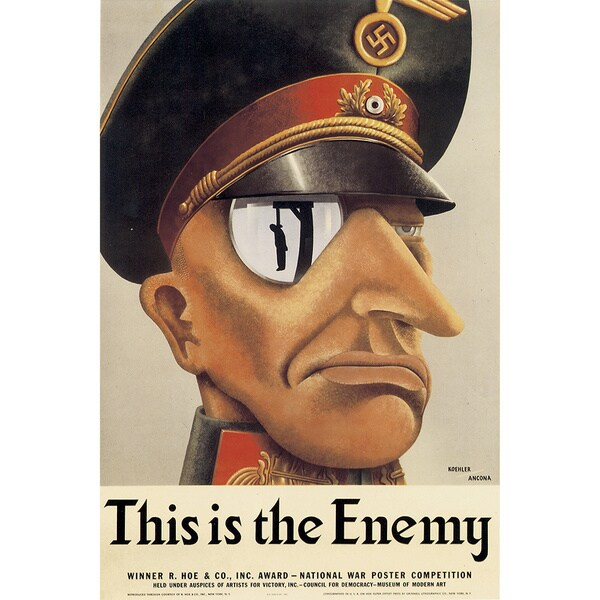 Marmont Hill Art Collective 'This is the Enemy' Canvas Art