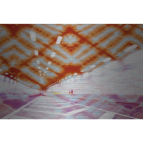 Marmont Hill 'Tunnel Vision' Aluminum Art