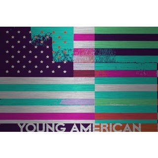 Marmont Hill 'Young American' Aluminum Art