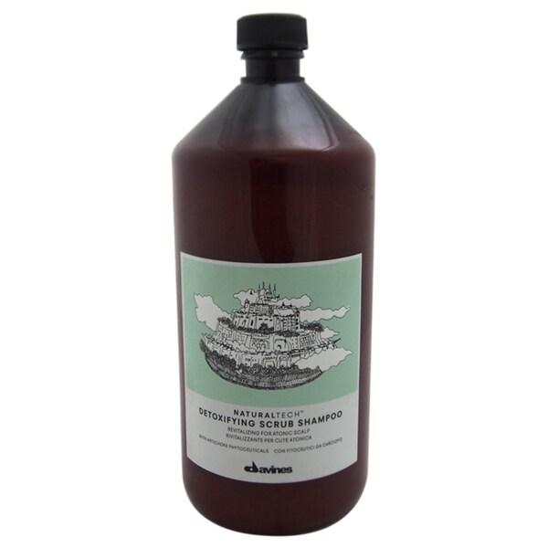 Davines Naturaltech Detoxifying Scrub 33.8-ounce Shampoo