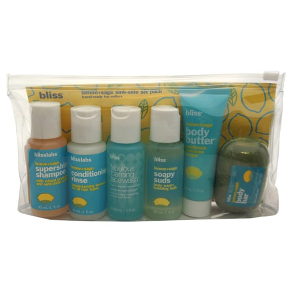 Bliss 6-pack Hygiene Travel Set 15124909