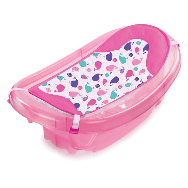 Summer Infant Sparkle N' Splash Pink Bath Tub