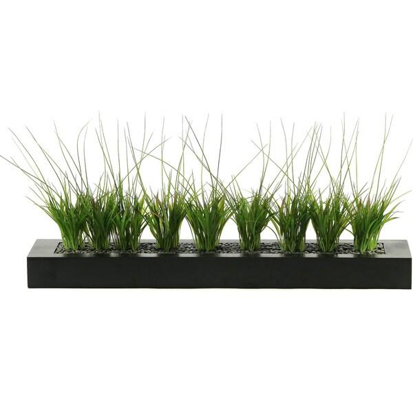 D&W Silks Onion Grass in Tray