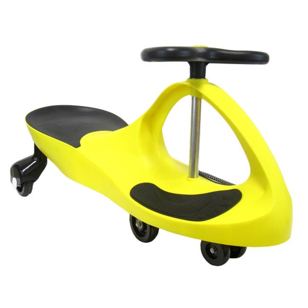 Joyriders Swing Car in Golden Yellow