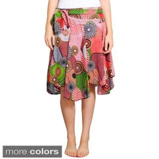 Playful Uneven Summer Skirt (Nepal)