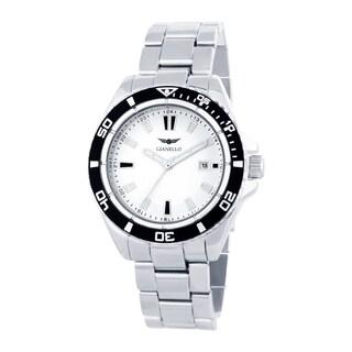 Gianello Men's Metal Bracelet Divers Watch