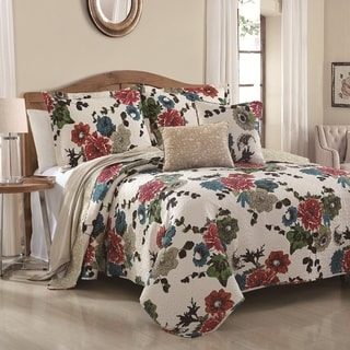Chantilli 5-piece Reversable Quilt