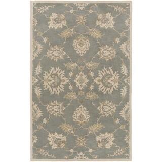 Hand-Tufted Watton Floral Wool Rug (5' x 8')