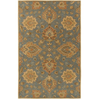 Hand-Tufted Whitby Floral Wool Rug (9' x 12')