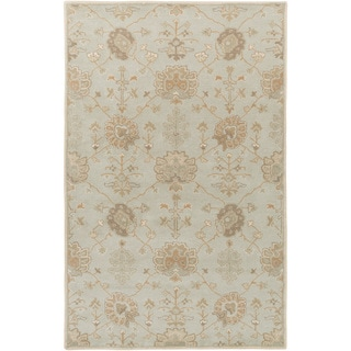 Hand-Tufted Syston Floral Wool Rug (7'6 x 9'6)