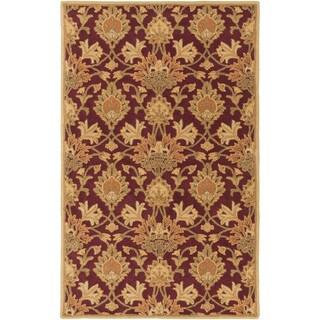 Hand-Tufted Totnes Floral Wool Rug (7'6 x 9'6)