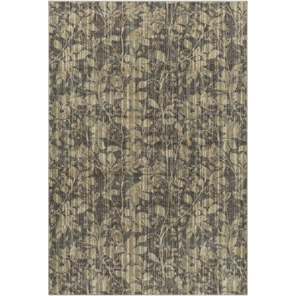 Meticulously Woven Battle Floral Rug