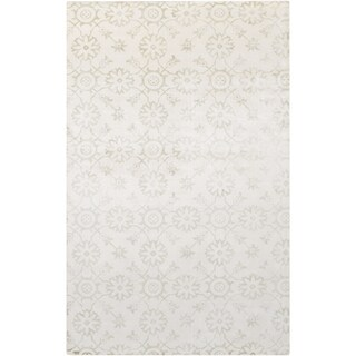 Hand-Loomed Reigate Floral Viscose Rug (8' x 11')