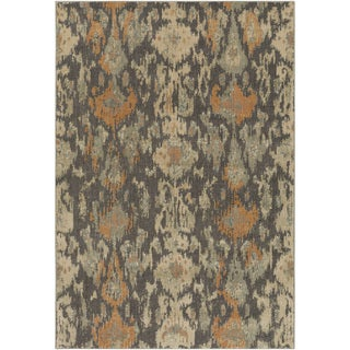 Meticulously Woven Pudsey Ikat Rug (5'3 x 7'3)