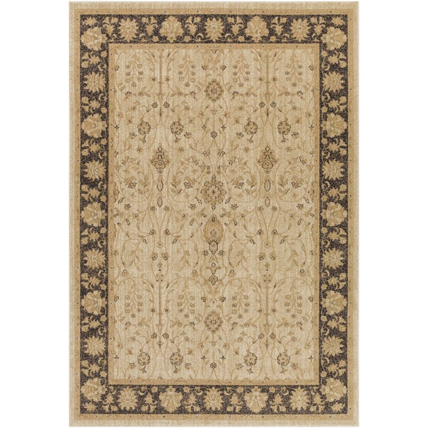 Meticulously Woven Bawtry Border Rug