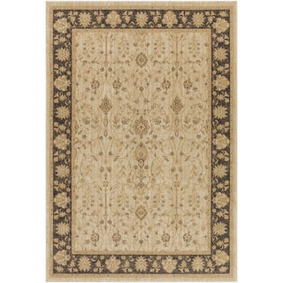 Meticulously Woven Bawtry Border Rug (5'3 x 7'3)