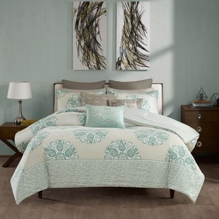 Ink+Ivy Melbourne Cotton 3-piece Comforter Set