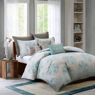 Ink+Ivy Melbourne Cotton 3-piece Duvet Cover Set