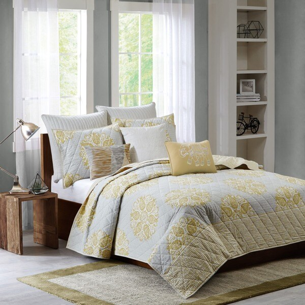 Ink Ivy Melbourne Cotton 3 Piece Coverlet Set Overstock