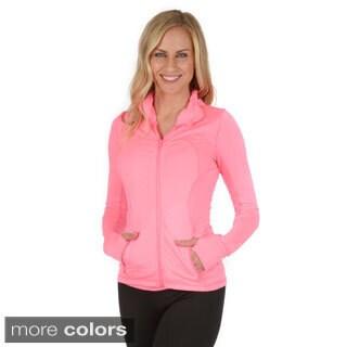 Journee Active Women's Fitted Activewear Jacket