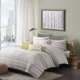 Ink+Ivy Lakeside Cotton 3-piece Duvet Cover Set