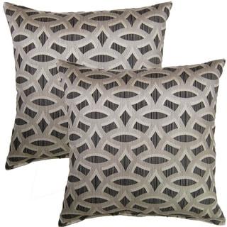 Backlit Zinc 17-inch Throw Pillow (Set of 2)