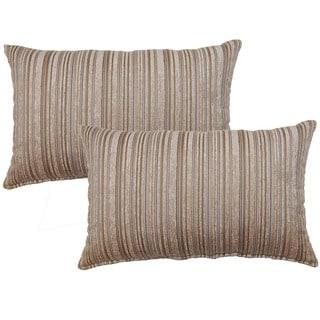 Dutton Taupe Decorative Throw Pillow (Set of 2)