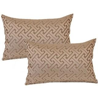 Skylar Grey Decorative Throw Pillow (Set of 2)