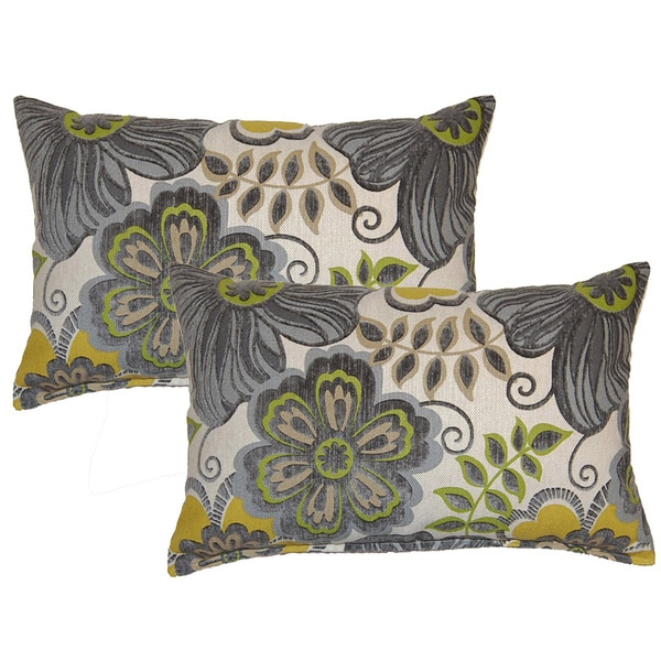 Clementine Smoke Decorative Throw Pillow (Set of 2)
