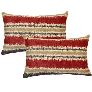 Ismir Red Decorative Throw Pillow (Set of 2)