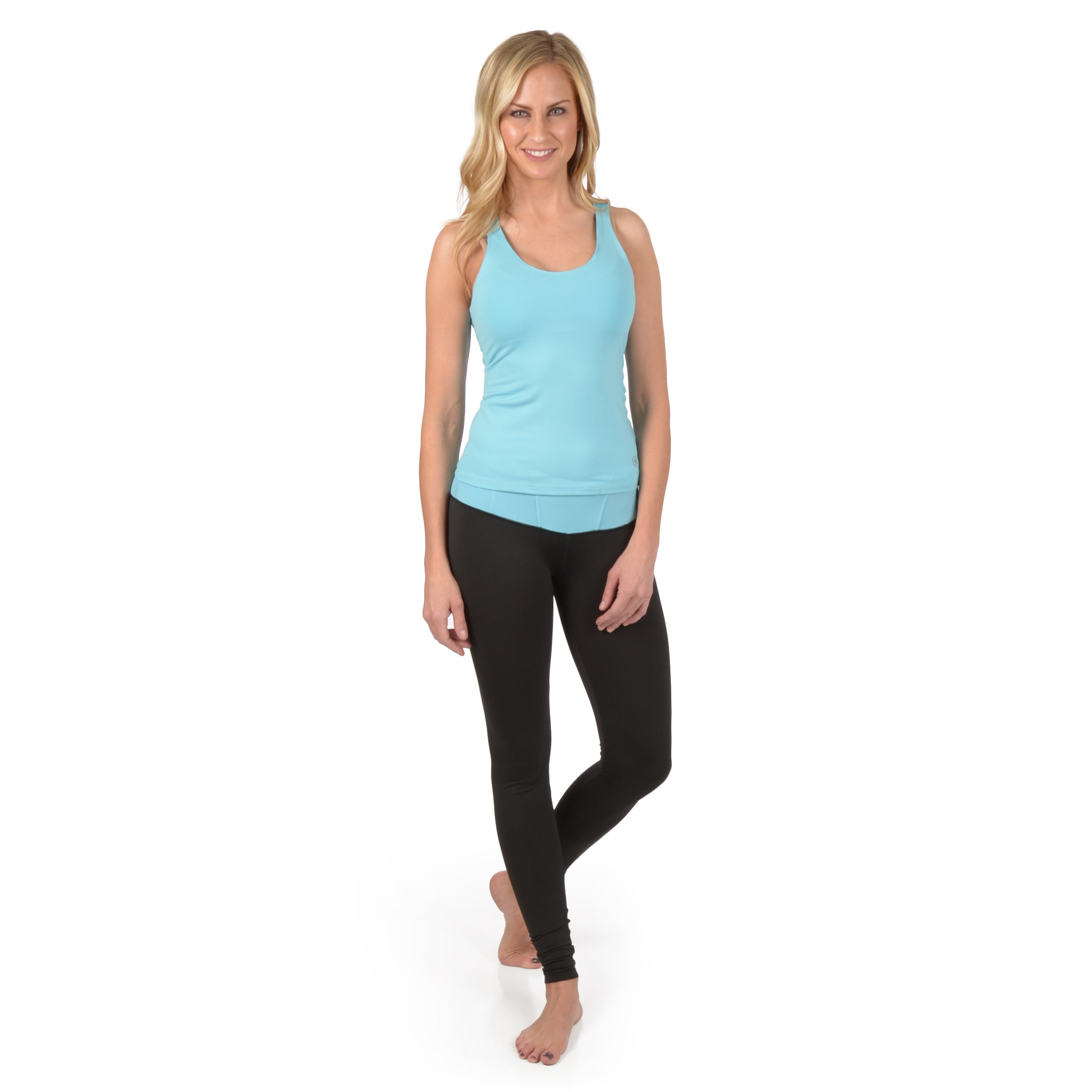 Journee Collection Journee Active Women's 2-pc Tank and Yoga Pant Set