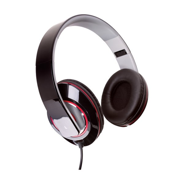 Sunbeam Stereo Bass Foldable Headphones with Mic