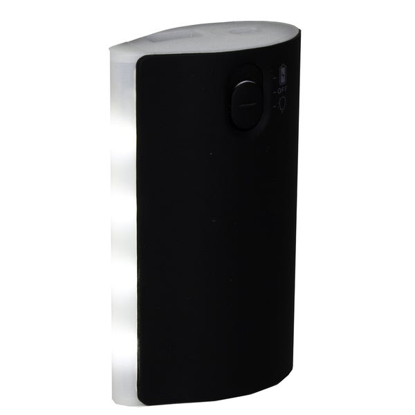 SoundLogic XT 5,200mAh Portable Power Bank with 4-LED Flashlight