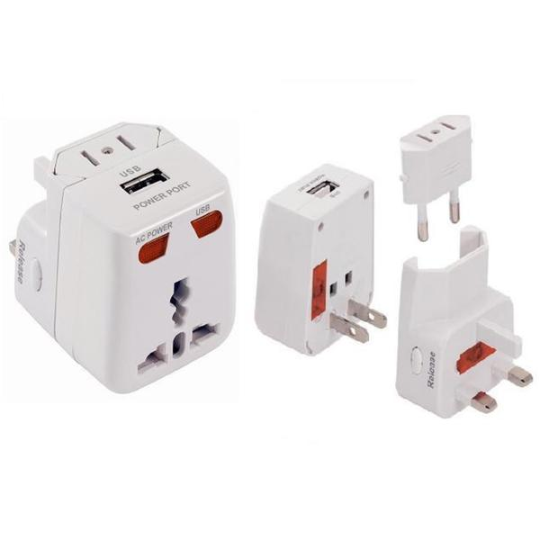 PowerXcel Universal World Travel Adapter