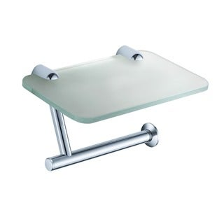 Fresca Alzato Toilet Paper Holder with Phone Tray