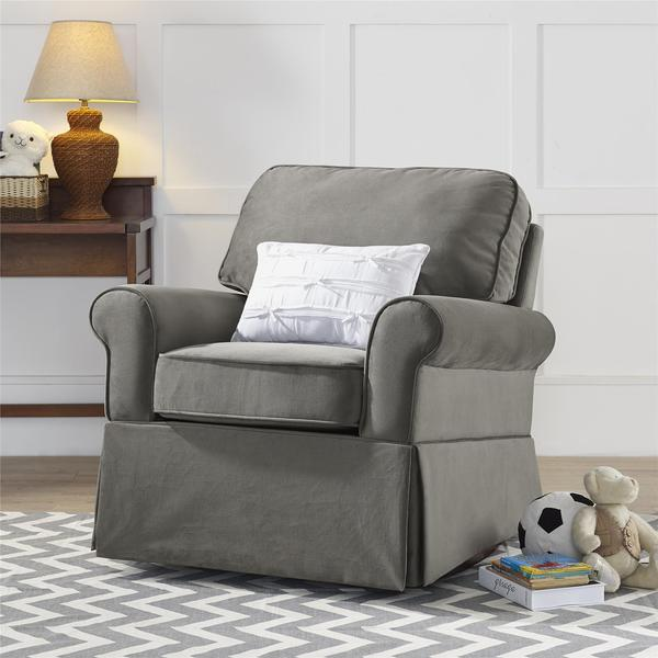 Baby Relax Graphite Grey Eva Rocker