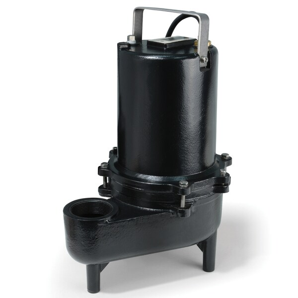 ESE60M ECO-FLO Products .6 HP Submersible Cast Iron Sewage Pump - Manual Switch