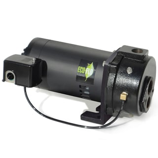 ECO-FLO Products 1 HP Convertible Cast Iron Deep Well Pump EFCWJ10