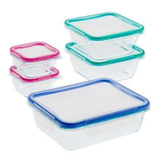 Snapware Total Solution Glass 10-piece Storage Set