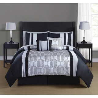 Journee Collection Segovia 10-piece Embroidered Comforter Set