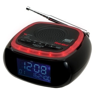 First Alert AM/FM NOAA Weather Band Clock Radio with S.A.M.E. Alert