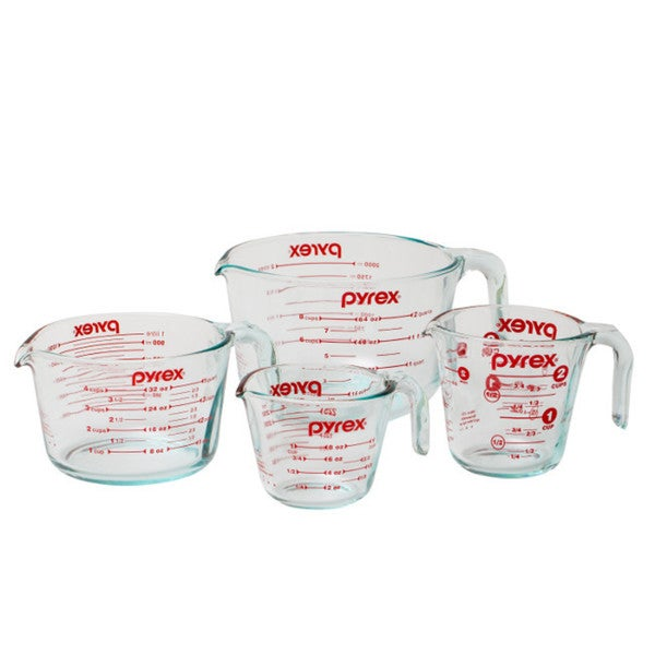 Pyrex Measuring Cup 4-piece Set