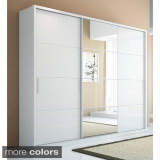 Manhattan Comfort Bellevue 5-drawer, 3-door Wardrobe