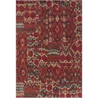 Meticulously Woven Penryn Ikat Rug (