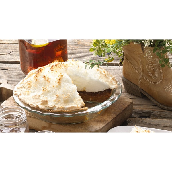 Pyrex Easy Grab 9.5-inch Pie Plate (2-pack) 15127604