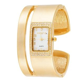 Xtreme ARDEN B Women's Double Bangle Cuff Goldtone Watch